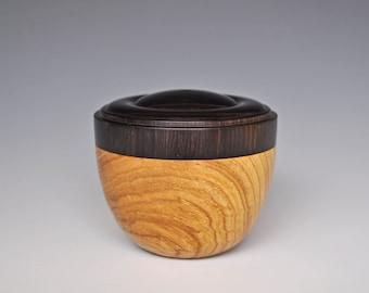 African Blackwood and Laburnum Box