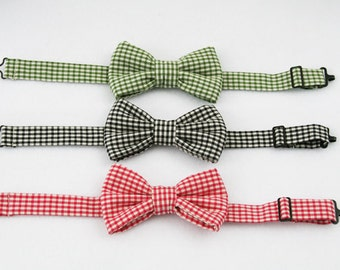 Boys Red Bow Tie, Boys Green Bow Tie, Bow Tie for Baby, Page Boy Outfit, Ring Bearer Outfit, Ring Bearer Bow Tie, Ring Bearer Outfit
