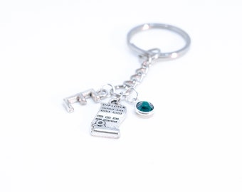 Graduation Keychain Gift For Her College Graduation