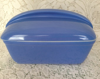 Retro Hall Blue Covered Refrigerator Dish Exclusively for Westinghouse
