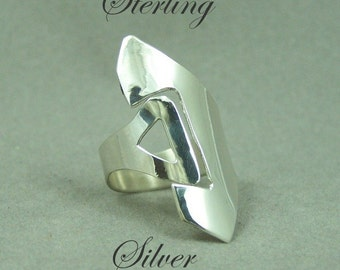 Sterling Silver Wrap Ring    Free Shipping