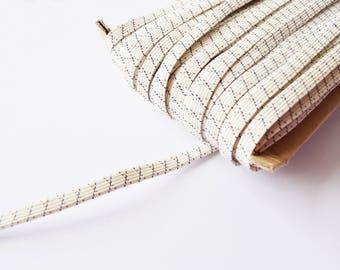 Elastic band 7mm waistband elastic stretch ribbon white per meter