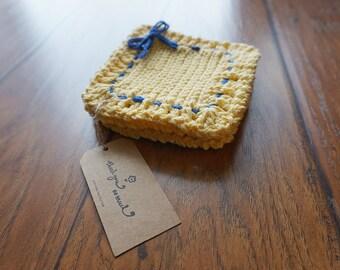 Crochet Coasters 4 pc set