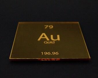 Gold (Mirror) Element Coaster