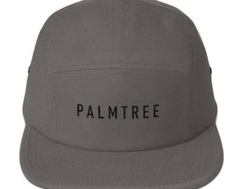 Palmtree - minimal - Five Panel Cap