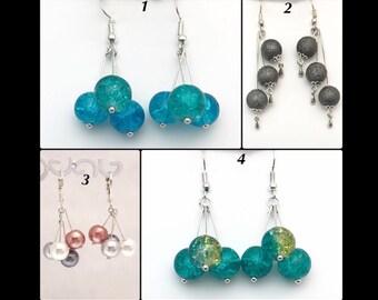 """Earrings """"Bouquet de Perles"""""""