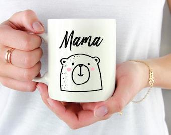 Mama bear mug, mamma bear mug, mom mug, baby shower gift, Mother's day gift, gift for her, gift for mom, coffee mug, gift for mom