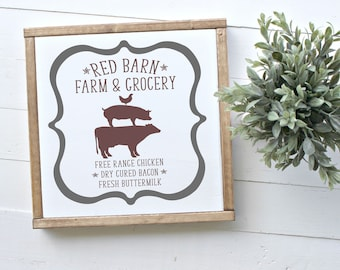 Red Barn Farm & Grocery SVG