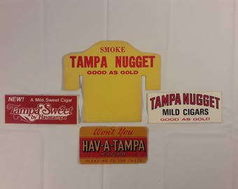 Vintage Tampa Nugget/Hav A Tampa Cigar Advertising