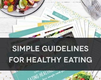 Simple Guidelines for Healthy Eating - Generic