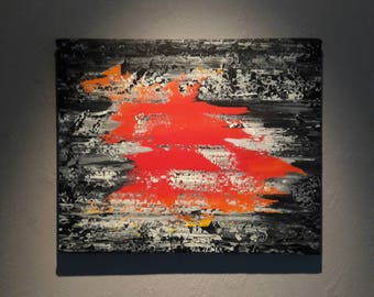 Abstract acrylic - a glimpse into...