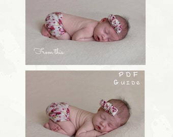 Newborn photography guide - Improve your Bum-Up pose