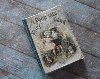 Miniature Book --- Peep into Fairyland