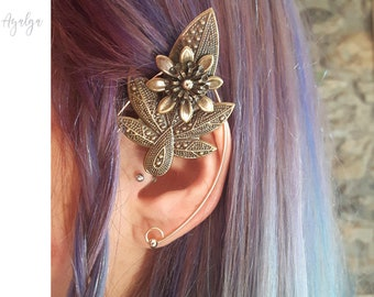 Elven ear cuff- statement jewelry- statement jewelry