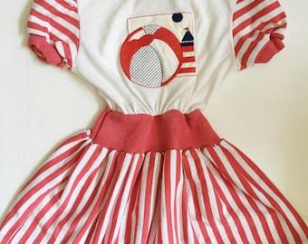 Vintage Healthtex Beach Dress 3T 4T