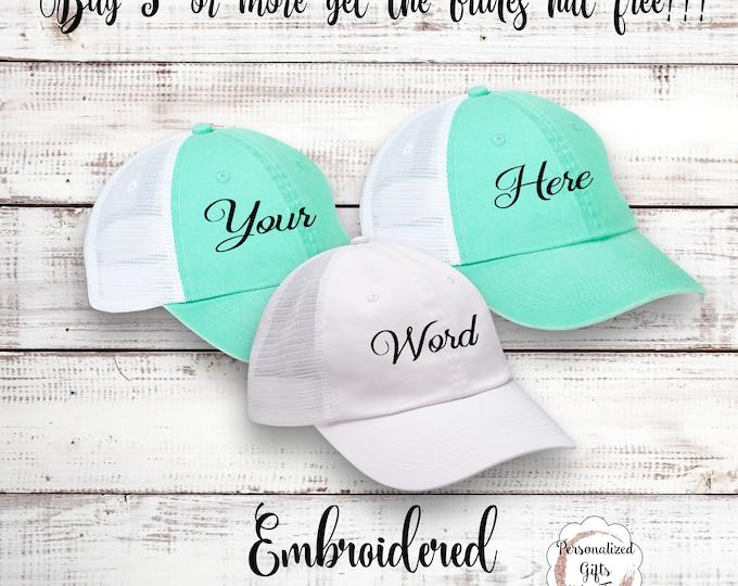 Sorority Sister Hat Baseball Cap Custom Cap Bridesmaid Gift Bachelorette Party Birthday Bash  Ball Cap Girls Night Out Bridal Party Gift