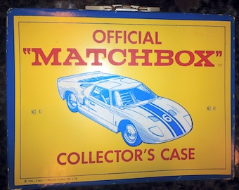 Official Matchbox Collectors Case 1966 No. 41 by L. Esney Productions and Co. Ltd.