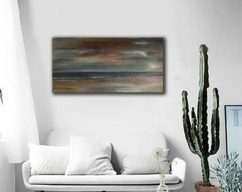 Oil Painting ,Abstract painting, Contemporary Landscape Painting, Modern Painting ,Wall Art Canvas, Abstract Art