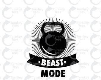beast mode SVG File | Fitness svg File | Gym SVG file | Funny quote SVG File| Vinyl Cutter Designs | Cameo Silhouette|Cricut svg