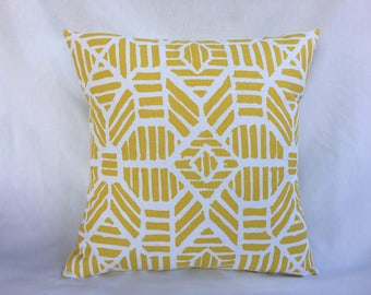 Yellow Cushion Cover - 20 x 20 Throw Pillow Cover - Cheap Throw Pillows - Bed Pillow Covers - Accent Pillow Cover - Sofa Pillows