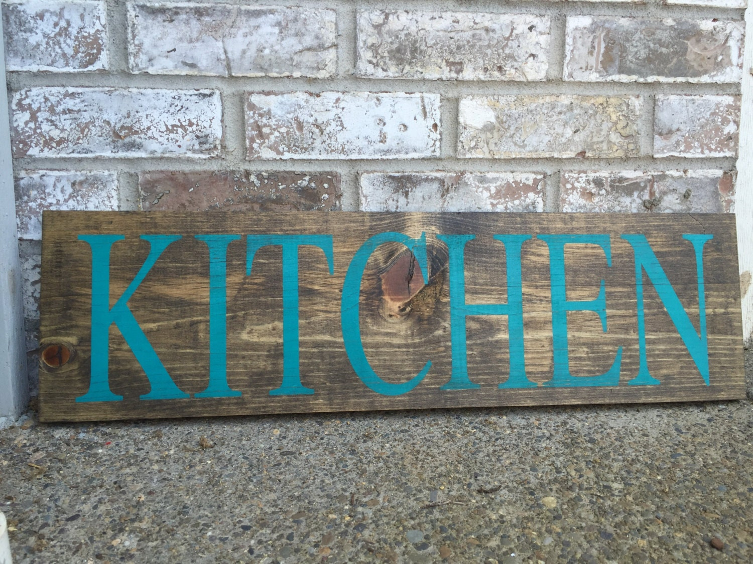 Kitchen signs decor cottage chic decor hand painted rustic