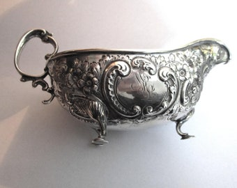 Sterling Small Footed Pitcher