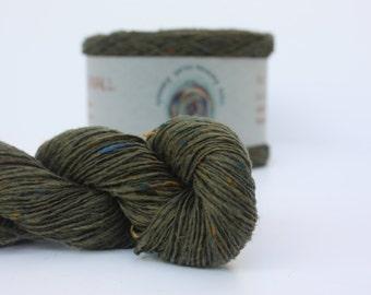 Spinning Yarns Weaving Tales - Tirchonaill 512 Moss Green 100% Merino 4ply
