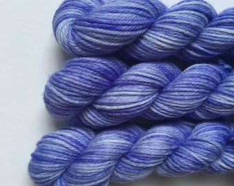 "Deluxe sock yarn 1 x 10 g mini skein ""Viola"""