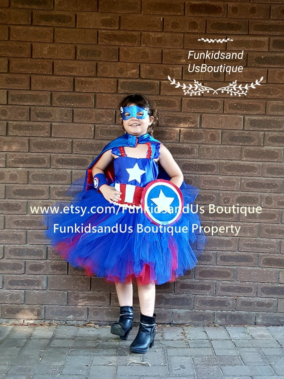 Captain America Tutu Dress