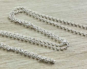 Choice- Sterling Silver 2.5mm Rolo Chain