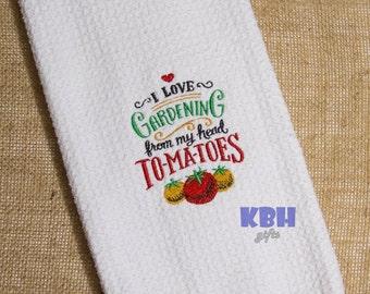 Gardening Hand Towel