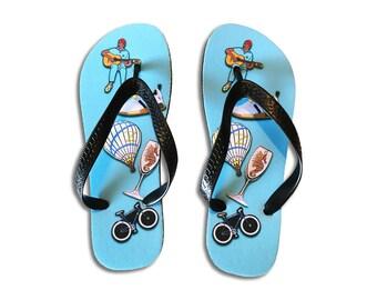 Zissou Flip Flops