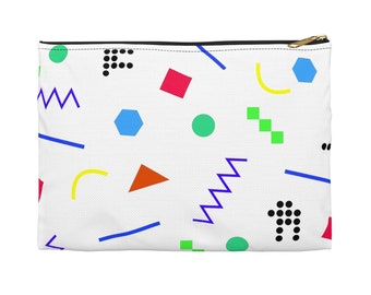 Accessory Pouch  Memphis Style