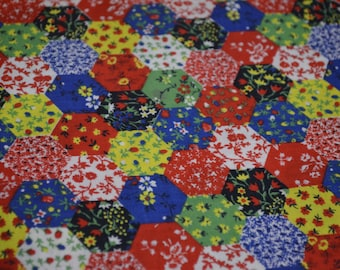 Vintage Patchwork Fabric
