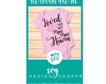 Hand Picked for Earth By Maw Maw in Heaven SVG Files Silhouette Studio, Cricut Expression, Cricut Design Space, Printable Clipart, Cut Files