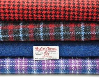 Harris Tweed Fabrics - 4 Piece Mix