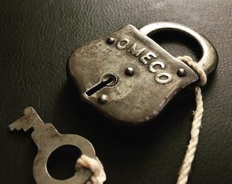 OMECO Padlock with Key