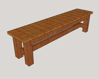 6 ft. Slat Bench