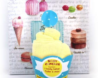 Banana Cupcake Bodysuit