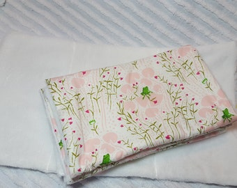 Burp Cloths (set of 3) Frog on a Lily Pad