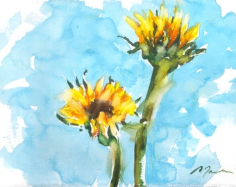 Fresh Pick No.264, 11x15, original watercolor