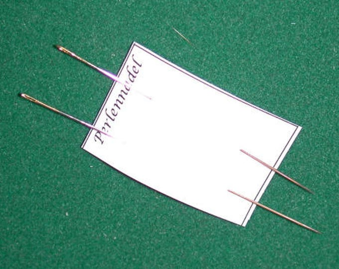 Needle for manual work in miniature, Dollhouse, Doll House, Dollhouse miniatures, cribs, miniatures, model making