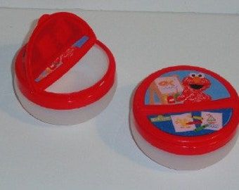 Sesame Street Snack Holder/Elmo Snack Container/Abby Cadabby
