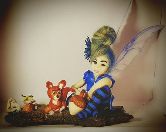 OOAK fairy forest