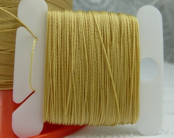 Gold Silk Like Beaders Secret Knotting Thread Beading Stringing Sewing 20 yards Polyester Golden