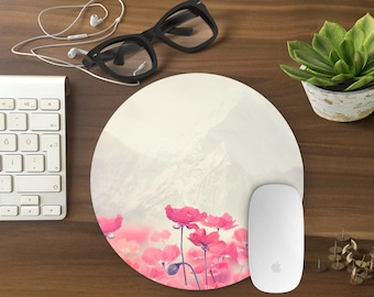 Mouse Pad Floral, Floral Mousepad, Mouse Mat poppy print Mouse Pad Office Mousemat Rectangular Mousemat Mousepad mouse pad flowers-T80627