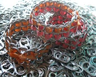 Bangle Set of 3 Bracelet Women's Cuff ExpandaBangle Tab Top Bracelet Free Key Chain