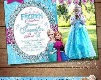 Frozen invitation etsy frozen birthday invitation frozen birthday party frozen invitation frozen birthday invitation digital stopboris Images