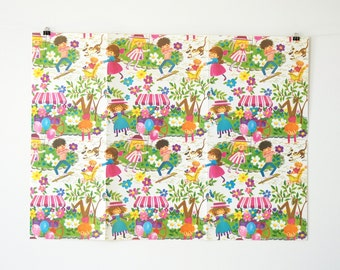 Vintage Wrapping Paper - Vintage Gift Wrap - Vintage Paper - Vintage Gift Wrapping