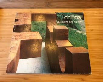 Art Exhibition, Chillida, Questions and Space, October 25 - December 20, 1986, Tasende Gallery, La Jolla, California